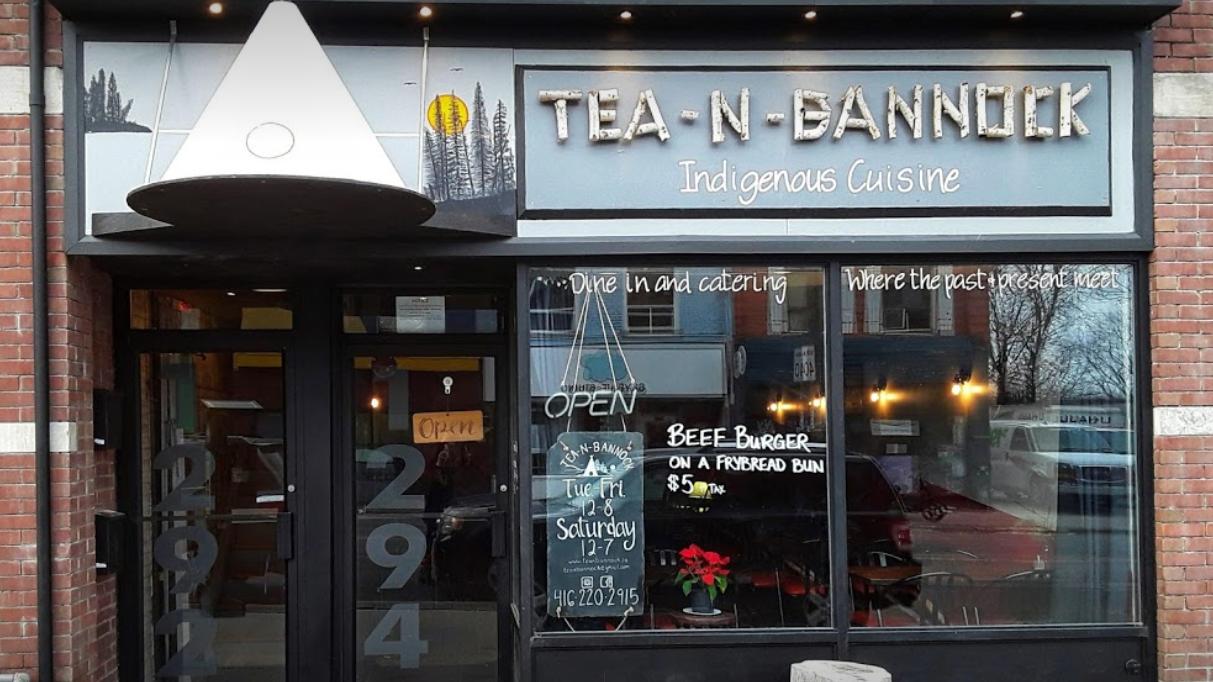 Tea and Bannock Indigenous food